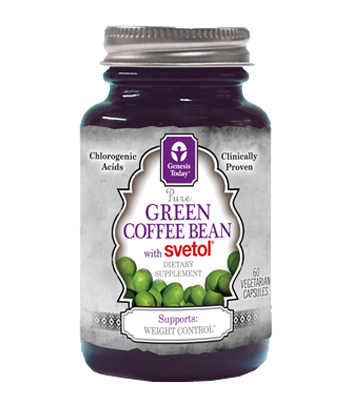 100% Pure Green Coffee Bean Extract with Svetol works synergistically to support weight loss, cardiovascular health, healthy blood sugar levels and overall disease prevention due to the high levels of antioxidants..