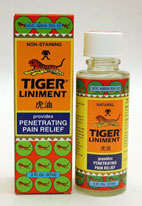 Tiger Balm Liniment penetrates quickly to relieve minor aches and pains, especially those associated with sore and stiff muscles and joints..