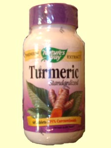 Nature's Way Turmeric Standardized is standardized to 95% curcuminoids, a potent antioxidant..