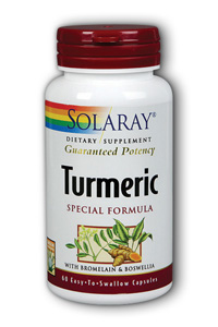 Turmeric combines with the herb boswellia along with Bromelain for a powerful anti-inflammatory formula..