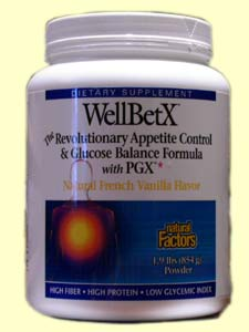 Natural Factors' WellBetX Meal Replacement Powder is designed to promote and support weight loss through appetite control and glucose balance..