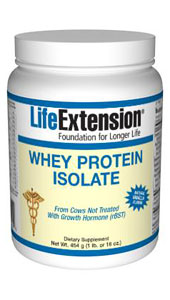 Enhanced Life Extension Protein (Vanilla)- Scientists have begun to investigate the ability of certain biological components of whey protein to enhance immunity..