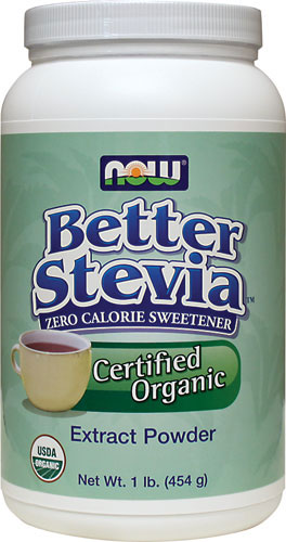 NOW is one of the industrys most trusted providers of Stevia products..